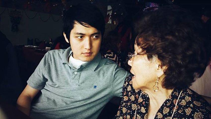 Goodhabits : 3 When Nana speaks, you Listen ... Here's a picture of my Grandmother & I. Grandmasboy Xmas2015🎄