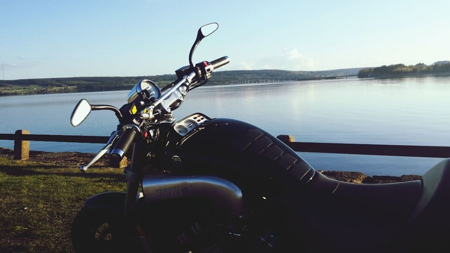 Summer have arrived to my little town :) Summertime YamahaVmax Thatsmybike Relaxing
