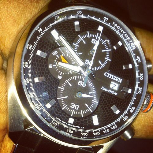 Here comes another'!!!Citizenindia Citizen Ecodrive Watchlovers watchcollector new titaniumlightblack picofthemoment