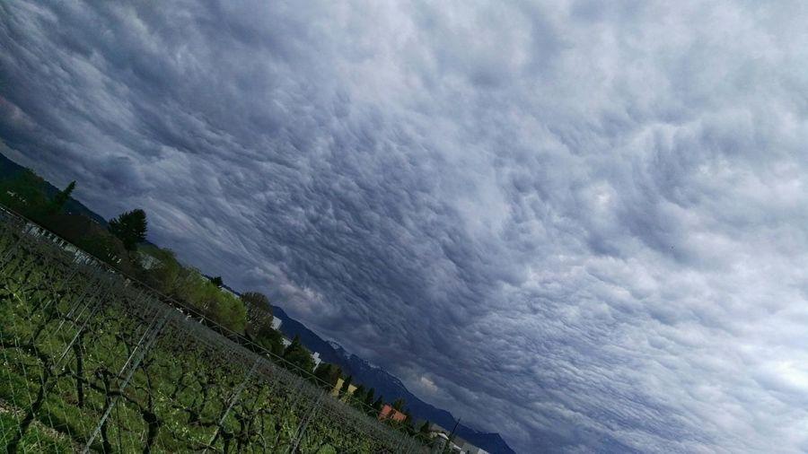 Dramatic Sky Im Vorbeifahren The Great Outdoors - 2017 EyeEm Awards