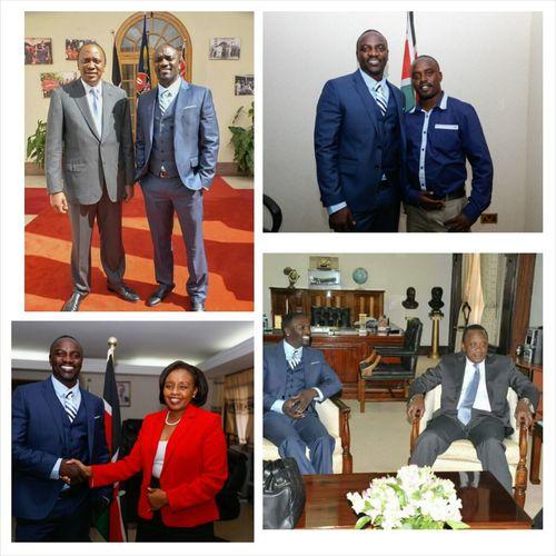 Akon visits Kenya