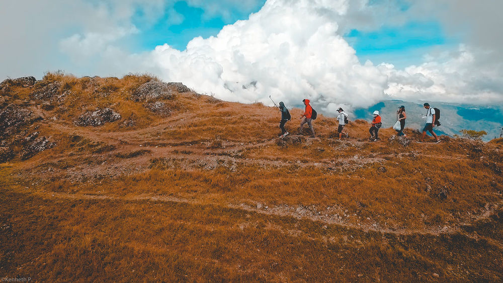 The Mt. Ulap adventure from Itogon, Benguet Philippines Cloud - Sky Mountains Trek Aerial Dji Outdoors Nature Landscape Tranquility