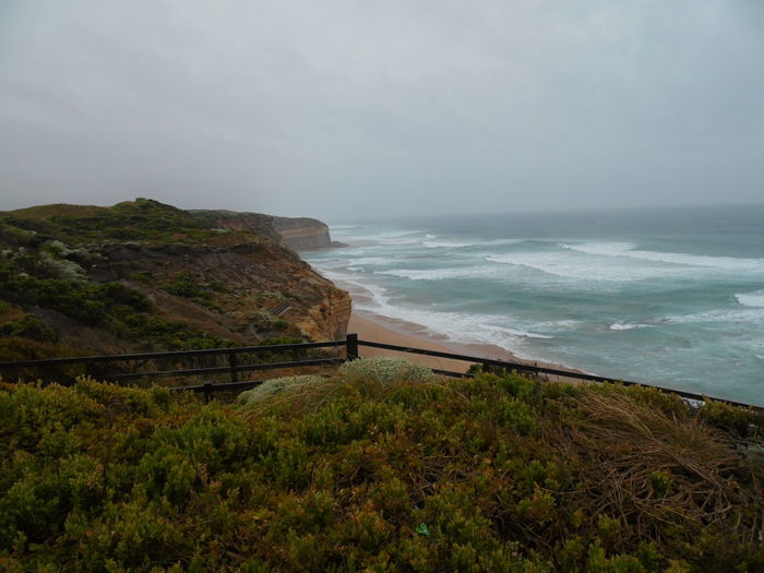 Apollo Bay Australia Cloudy Day Rainy Days Trip Beachandsea Greatoceanroad Nostalgic  Sea Trip Photo Water