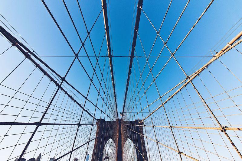 Brooklyn Bridge / New York Brooklyn Bridge  New York Stay Out