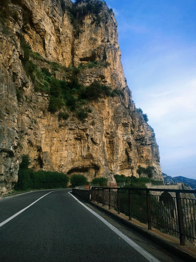 Mountain road. Sky Canyon Cliff Eye4photography  EyeEm Best Shots EyeEm Gallery EyeEm Nature Lover Leading Muntain Nature Nature Photography Nature_collection Naturelovers Perspective Road Roadtrip Rock Rock Rock - Object Rock Formation Rocky Rocky Mountains Rough Sky_collection Street