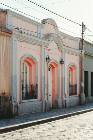 Latin America Pink Traveling Architecture Argentina Building Exterior Built Structure Colonial Architecture Day Explore House No People Outdoors Street Tilcara Traditional Travel Destinations