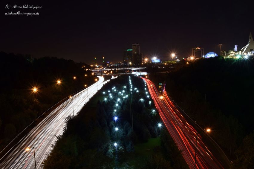 Highway Highwayphotography Highway Photography Night Light Lights Highways&Freeways Cars Car Carlights
