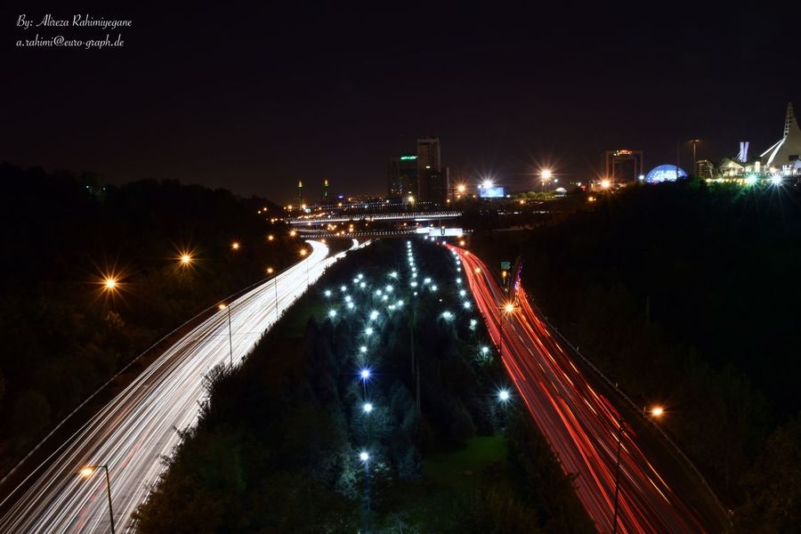 Highway Highwayphotography Highway Photography Night Light Lights Highways&Freeways Cars Car Carlights