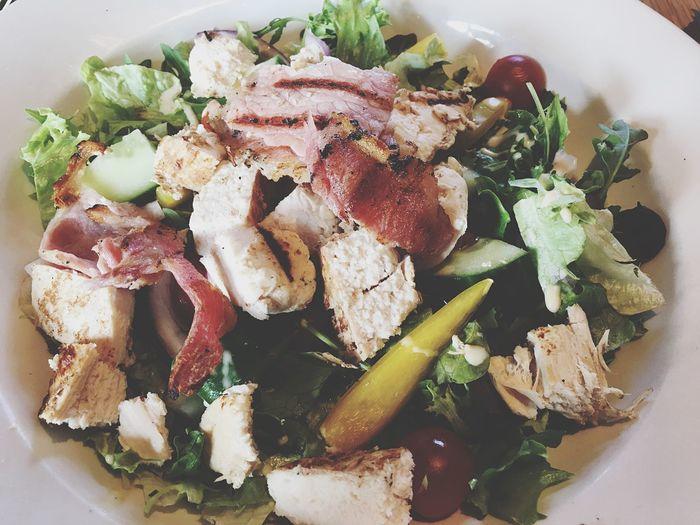 Food Salad Chicken & Bacon First Eyeem Photo