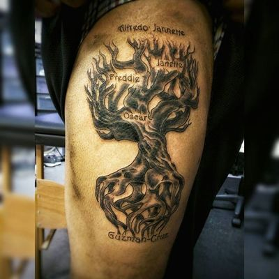 Strong roots keep a strong family grounded glad I had the opportunity to work on it