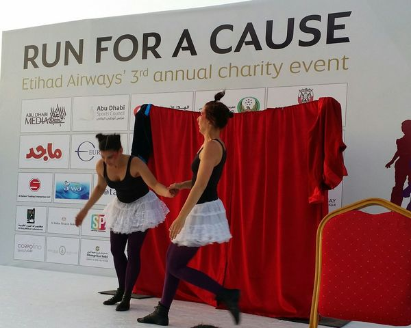 Uae,abudhabi Etihadairways 3rd Annual Charity Event Show Run For A Cause Comic show Outdoor Photography