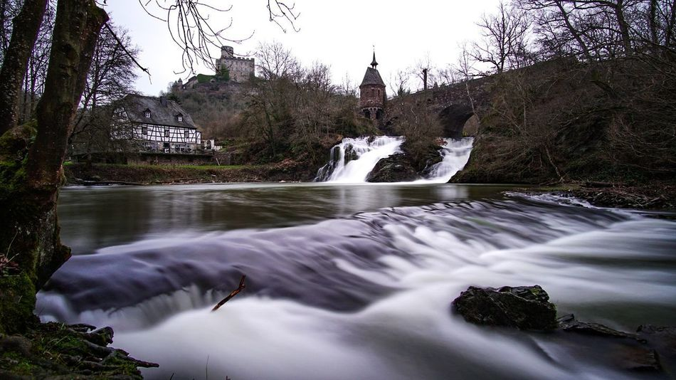 Pyrmonter Mühle, Germany Water Longtimeexposure Exposure Sony Colour Bridge Landscape Photography Photo Long Exposure Waterfall Tree Motion Nature River Beauty In Nature No People Outdoors Forest Scenics Sky Day