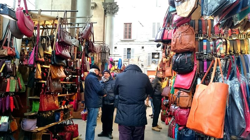 Leatherbag Market Florence Colourful People Toscana2014 Italy❤️ Holidays ☀ I ❤ Florence Colours