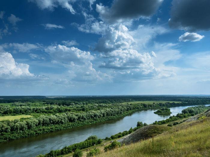 Russia, Voronezh region, Voronezh limestone mountains, the river don Russia Travel Voronezh Limestone Mountains Voronezh Region Leisure Limestone Mountains The River Don Tourism Vacation