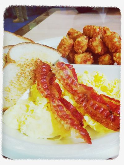 Breakfast before class. Yum Simplefoods