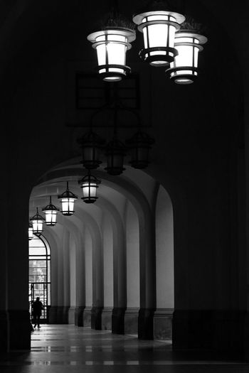 Arch In A Row Architecture Architectural Column Built Structure Illuminated Indoors  No People Day TheMinimals (less Edit Juxt Photography) Discover Italy / With Ale Salerno Italy Italia Blackandwhite Photography