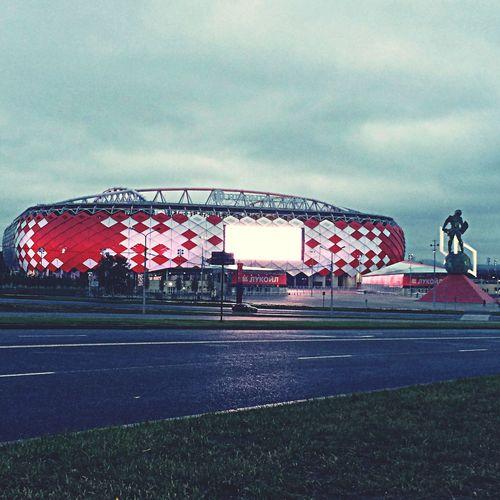 Moscow Spartak Moscow Otkrytie