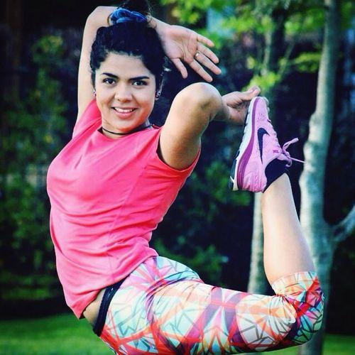 Gimnastics Nature Girl Love Sports