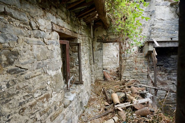 Old farm rattled Abandoned Architecture Bad Condition Built Structure Damaged Day Destruction Dirty Doorway History House Indoors  No People Obsolete Old Old Ruin Rotting Rubble Run-down Weathered Window Wood - Material