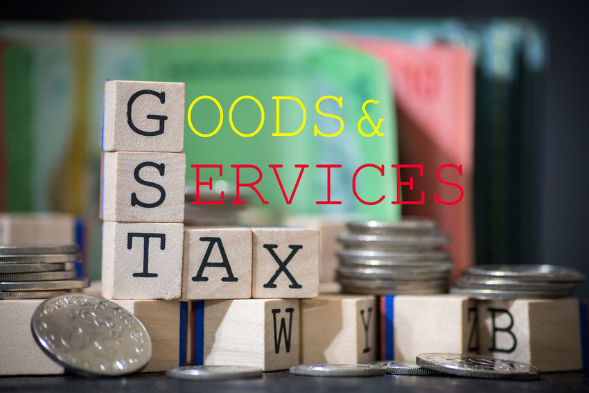 Cube Wood Alphabet Close-up Goods And Services Tax Gst Indoors  No People Wooden Words