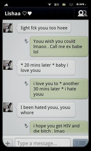 @lishaaaaaaa . convo lol