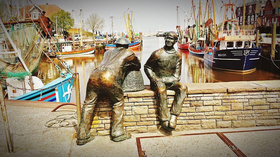 Nordsee Feeling🐚🌾 Neuharlingersiel Statue