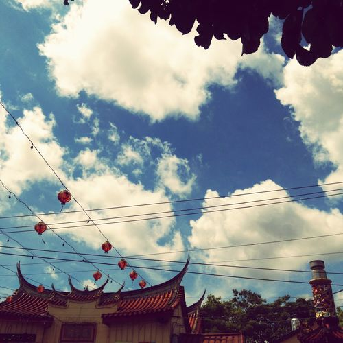 Temple 昌黎祠 Clouds And Sky Hot Summer 🌞 Sunny Day