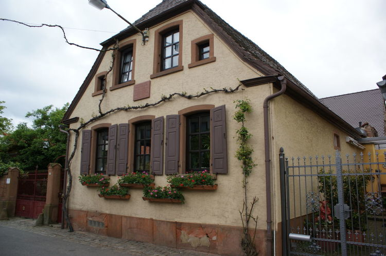 Architecture European House Façade German House House Residential Structure