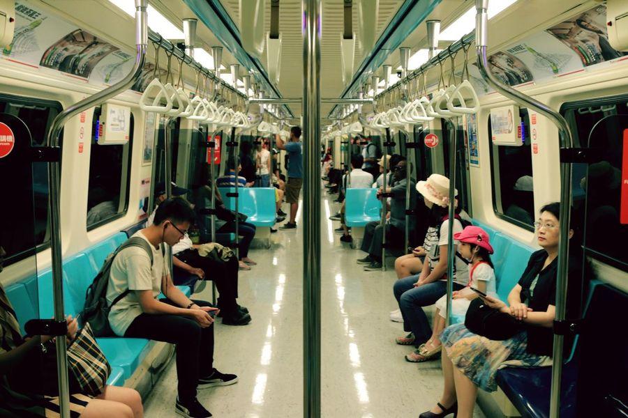 Taipei Metro Traveling Travel Photography Taipei Taiwan Taipei Metro Taking Photos Street Photography Streetphotography Public Transportation Train Taipei,Taiwan