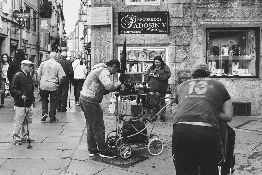 Street Bn Bw Luisgonçalvesfotografia Santiago De Compostela The Week On EyeEm The Street Photographer - 2017 EyeEm Awards Eye4photography  Luisgonçalves Street Photography