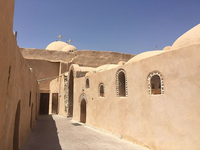 Ancient Civilization Coptic Architecture Built Structure Religion Sky Sunlight Belief Spirituality