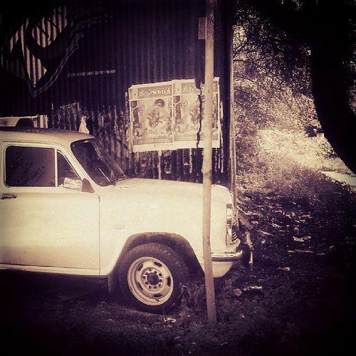 Old Car Shed Vintage Ambassador Instasxt