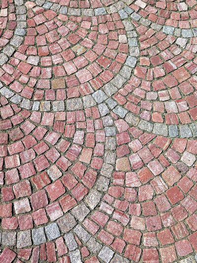 Detail shot of stone tile flooring