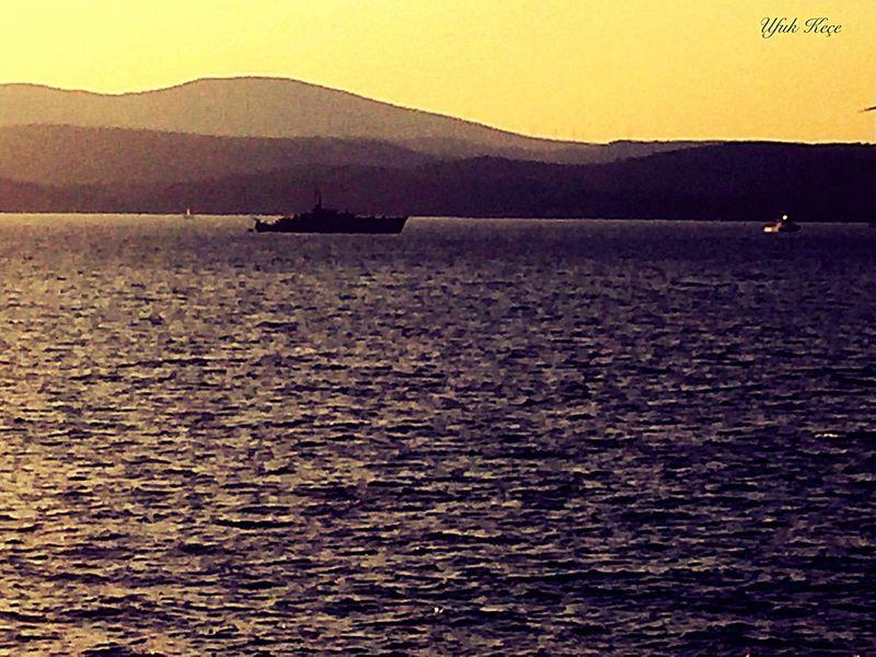 Egesea Niceshoot Myobjective Beauty In Nature Nature Silhouette Sea Sunset