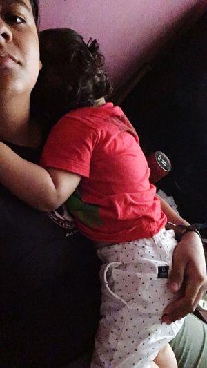 My baby boy! ❤️ Sleeping Hugs & Love  Hugs Aunt  Reallove Babyboy Nephew  Love Three Quarter Length Family With One Child Childhood Home Interior Casual Clothing Love Bonding People