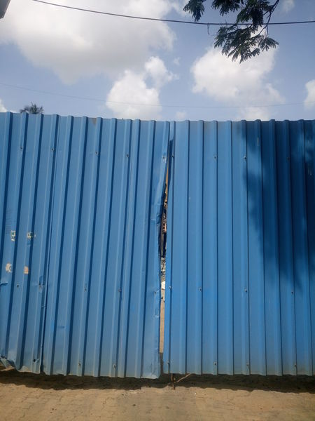 Architecture Cloud - Sky Corrugated Iron Day Nature No People Outdoors Sky