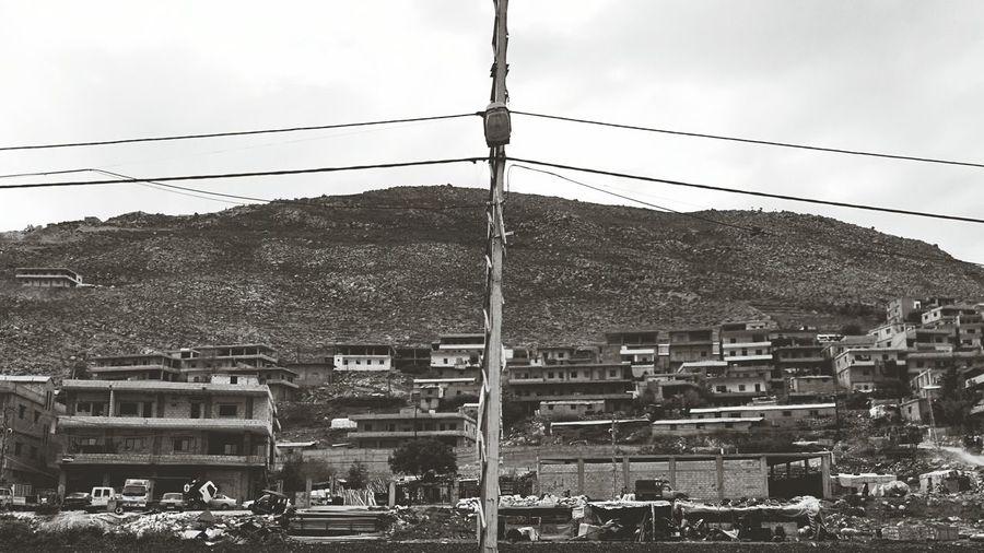 Bekaa valley Landscape Multiple Layers Monochrome