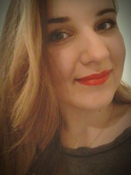 First Eyeem Photo Redlips Red Lips Poland Polishgirl Makeup Firstpicture Smile Just Smile  Shatin