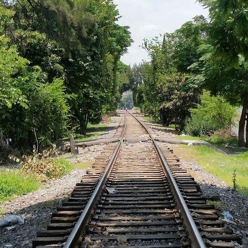 Vias Tren Caminar Nuevo  Continuar Busqueda No Parar First Eyeem Photo