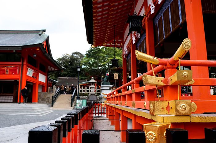 Old But Awesome Japanese Culture Historical Place EyeEm Japan Japannes Temple Amazing Architecture Beautiful Place Fushimi Inari Taisha Temple Architecture Red EyeEm Best Edits From My Point Of View History Architecture Fushimi Inari Taisha Shrine Fushimi Inari Kyoto