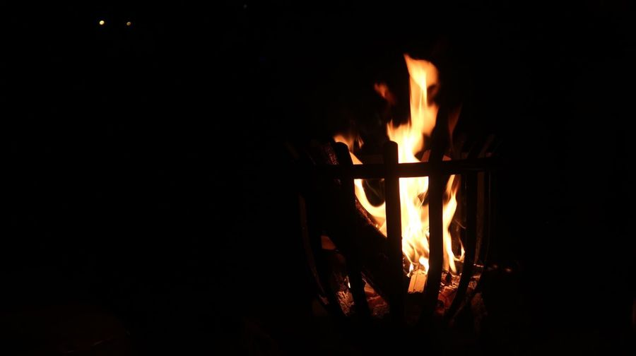 The Week On EyeEm Fire - Natural Phenomenon Flame Burning Heat - Temperature Glowing Night Copy Space Bonfire Campfire No People Dark Long Exposure Illuminated Outdoors Fire Pit Canonphotography Canong7xmarkii EyeEmNewHere