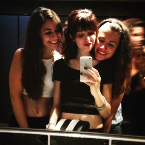 Girls Night Out Tattooed Drinks Dancing Music Happy My Girls Lovelovelove Selfie Happiness ❤️❤️❤️
