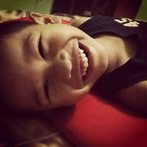 Missin that Perfect Smile in the morning! Come home already, Ben10 ! 😁Ilovemynephew 😍