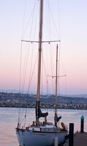 California Clear Sky Dana Point, Ca Day Harbor Harbor Mast Mode Of Transport Nature Nautical Vessel Ocean Ocean View Outdoors Sail Sailboat Sailboats Sea Ship Sky Tranquility Transportation Vacations Water Waterfront