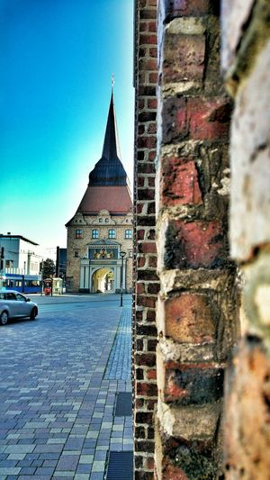 Seeing The Sights Architecture Building Mauer Rostock