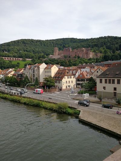 Riverside of the town with the famous castle (Heidelberger Schloss) on the hill. The castle ruins are among the most important Renaissance structures north Alps Baden-Württemberg  Castle Cityscape GERMANY🇩🇪DEUTSCHERLAND@ German Germany Photos Germany 🇩🇪 Deutschland Germany🇩🇪 Heidelberg Heidelberg Castle Heidelberg Germany Heidelberg Old City Southwest Germany TOWNSCAPE Architecture Baden Württemberg Badenwürttemberg Building Building Exterior City cityscapes Germany Heidelberger Schloss Outdoors Townscapes
