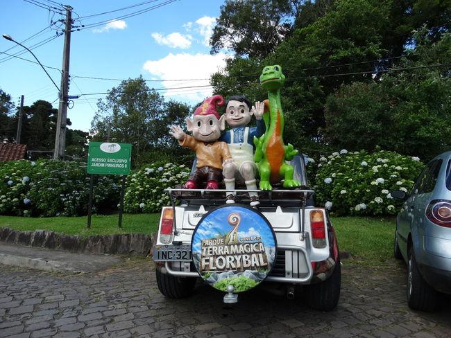 Serra Gaúcha Canela/RS Canela, Brazil Gnomo Dragon Gnome Esculture Toys Escultura Funny Car Funny Car