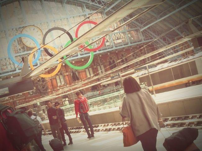 London Kingscrossstation London Olympics 2012 Olympics Train Station Frame It! S Qi Travel Novice Photography