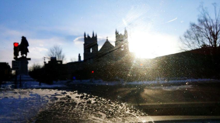 Richmond, VA Sunset Blur Light