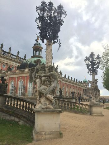 #Potsdam Architecture Art And Craft Building Exterior Built Structure Day Human Representation Nature No People Outdoors Sculpture Sky Statue Travel Destinations Tree